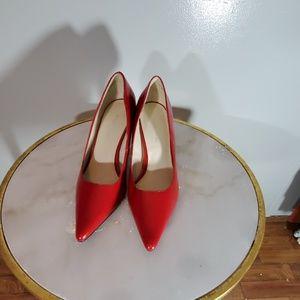 - Red high heels